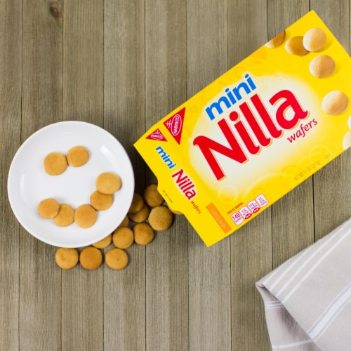 Nilla Wafer Mini Cookies Perspective: right