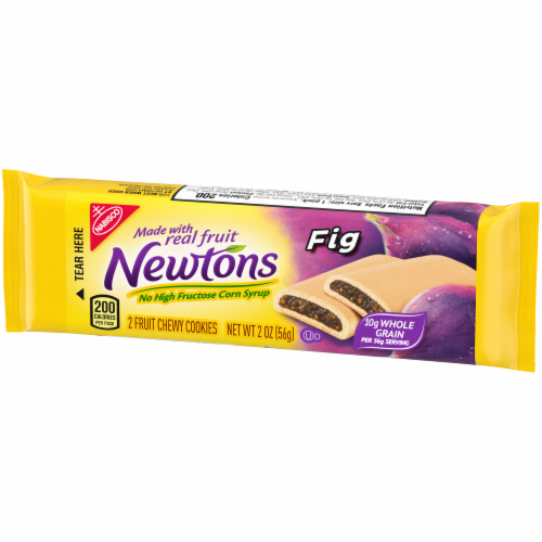 Newtons Fig Fruit Chewy Cookies Perspective: right