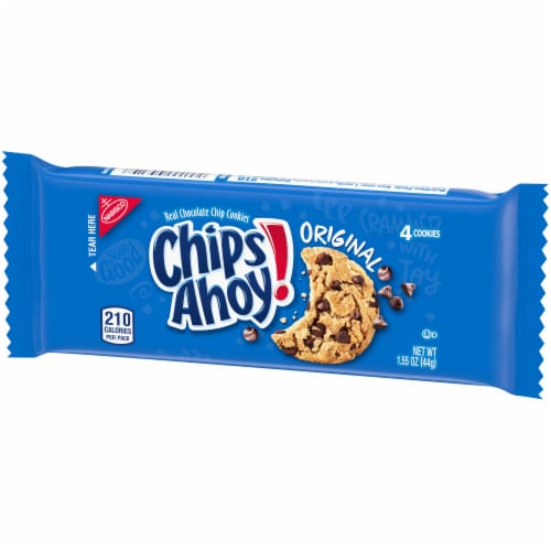 Chips Ahoy! Original Chocolate Chip Cookies Perspective: right