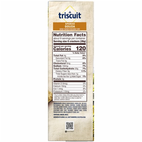 Triscuit Smoked Gouda Crackers Perspective: right
