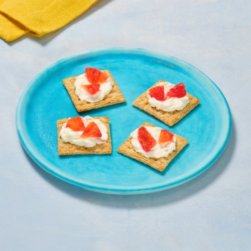 Triscuit Reduced Fat Crackers Family Size Perspective: right