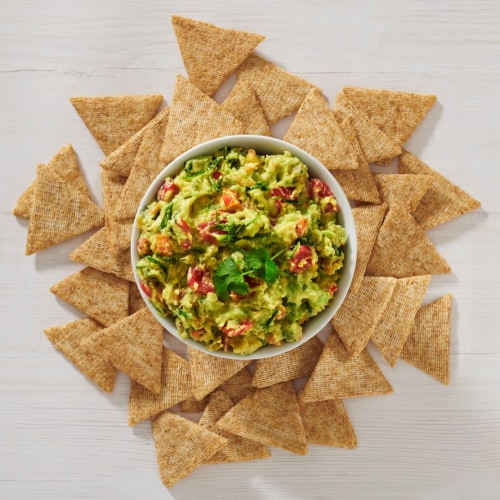 Triscuit Thin Crisps Parmesan Garlic Whole Grain Wheat Crackers Perspective: right