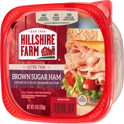 Hillshire Farm Ultra Thin Sliced Brown Sugar Ham Perspective: right