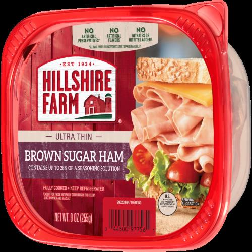 Hillshire Farm® Ultra Thin Sliced Brown Sugar Ham Perspective: right