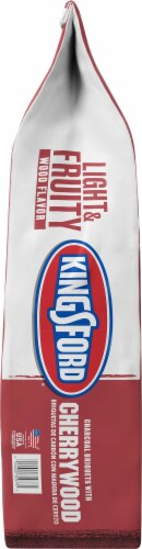 Kingsford Light & Fruity Wood Flavor Cherrywood Charcoal Briquets Perspective: right