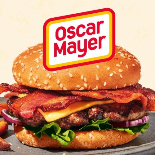 Oscar Mayer Selects Natural Gluten Free Smoked Uncured Bacon Perspective: right