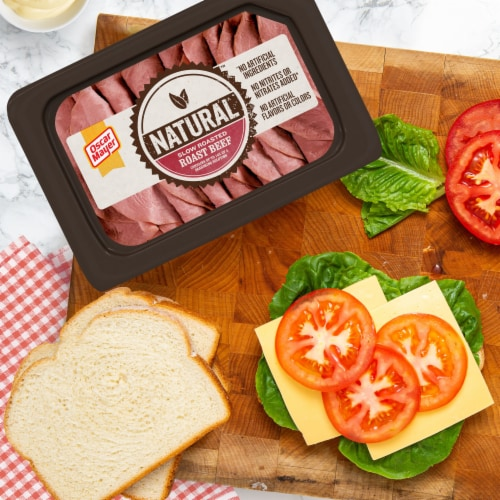Oscar Mayer Natural Slow Roasted Roast Beef Perspective: right