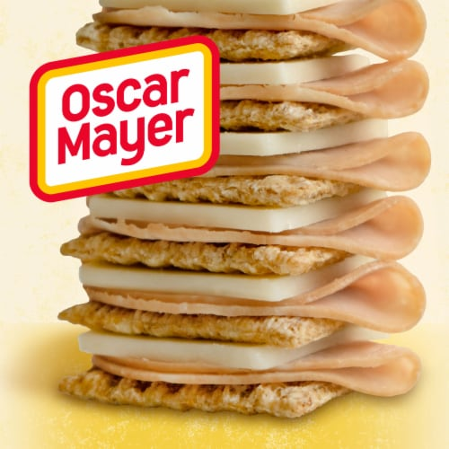 Oscar Mayer Natural Buffalo Style Chicken Monterey Jack Cheese & Crackers Snack Pack Perspective: right