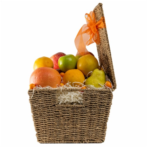 Melissa's Fruit Hamper Gift Basket (Approximate Delivery Time 3-5 Days) Perspective: right