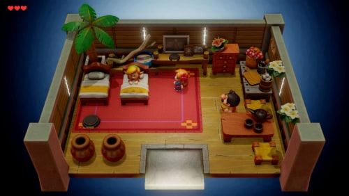 The Legend of Zelda Link's Awakening (Nintendo Switch) Perspective: right