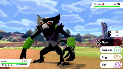 Pokemon Sword - Nintendo Switch Perspective: right