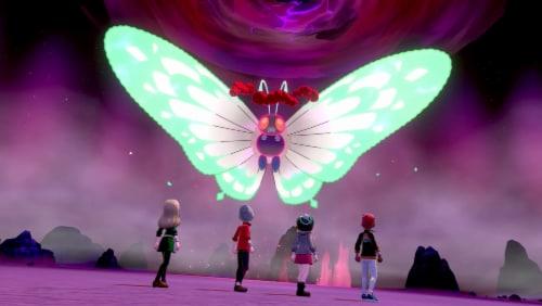 Pokemon Shield (Nintendo Switch) Perspective: right