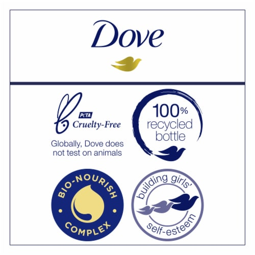 Dove Nutritive Solutions Intensive Repair Strengthening Shampoo with Keratin for Dry Damaged Hair Perspective: right