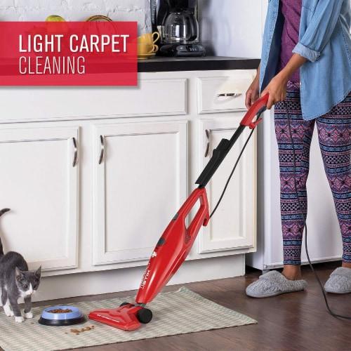 Dirt Devil SimpliStik Bagless Stick Vacuum Cleaner - Red Perspective: right