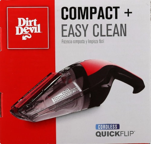 Dirt Devil Quick Flip 12-Volt Cordless Hand Vacuum Perspective: right