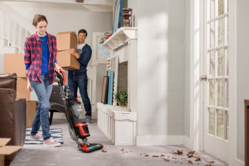 Dirt Devil Razor Vac Plus Upright Vacuum Perspective: right