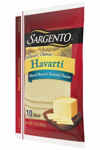Sargento Natural Havarti Cheese Slices Perspective: right