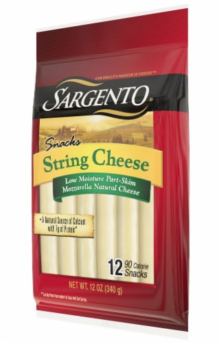 Sargento String Cheese 12 Count Perspective: right