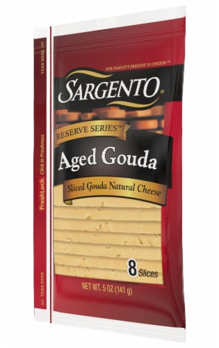 Sargento Reserve Series Aged Gouda Cheese Slices Perspective: right