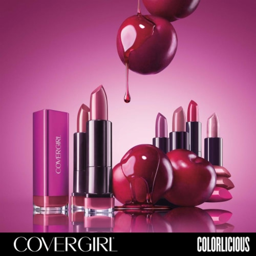 CoverGirl Colorlicious Coquette Orchid Lipstick Perspective: right
