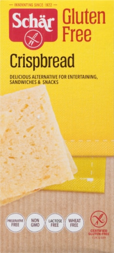 Schar Gluten Free Crispbread Perspective: right