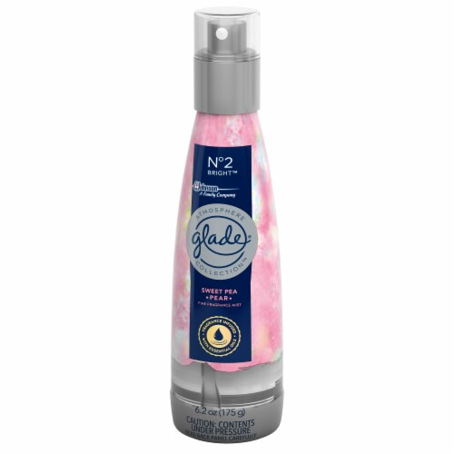 Glade Atmosphere Fine Fragrance Mist No. 2 Bright: Sweet Pea & Pear Perspective: right