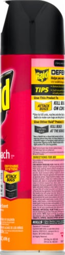 Raid Orange Breeze Scent Ant and Roach Killer Perspective: right