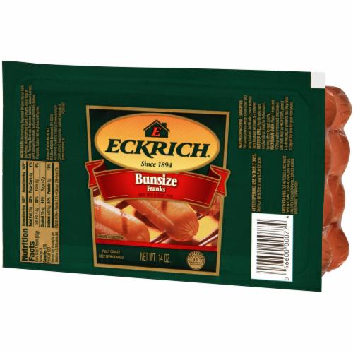 Eckrich Bun Size Franks 8 Count Perspective: right