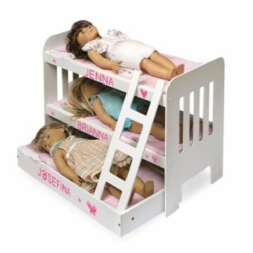 Trundle Doll Bunk Beds w/Ladder Perspective: right