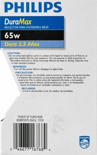 Philips 65-Watt BR30 Incandescent Light Bulb Perspective: right
