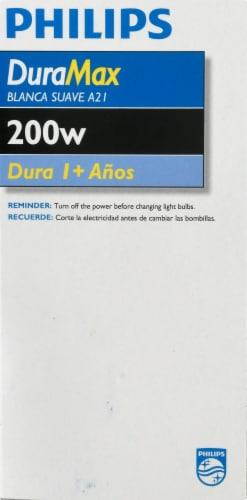 Philips DuraMax 200-Watt Medium Base A21 Light Bulb Perspective: right