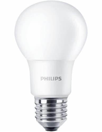 Philips 8-Watt A19 LED Light Bulbs Perspective: right