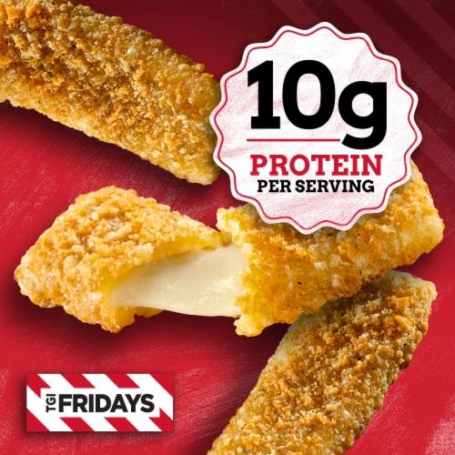 TGI Friday's Mozzarella Sticks Perspective: right