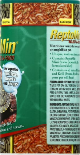 Tetra ReptoMin Select-A-Food Reptile Food Perspective: right