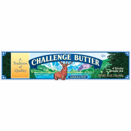 Challenge Unsalted Butter Perspective: right