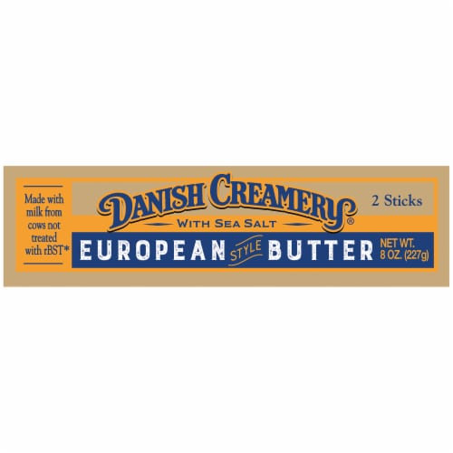 Danish Creamery Salted European Style Butter Perspective: right