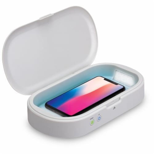 iLive Wireless Charger and Aromatherapy UV LED Sanitizer Perspective: right