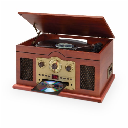 iLive 6-In-1 Turntable Stereo System Perspective: right