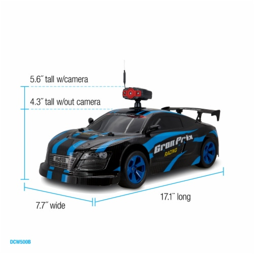Gran Prix Remote Control Car with Wifi Camera Perspective: right