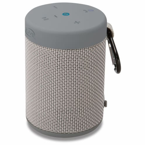 iLive Bluetooth Waterproof Portable Speaker - Gray Perspective: right