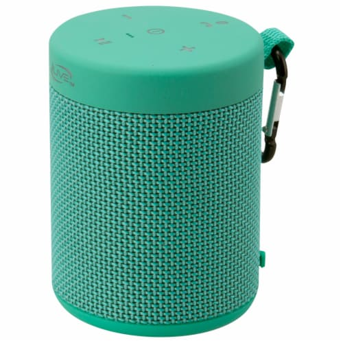 iLive Bluetooth Portable Speaker - Green Perspective: right