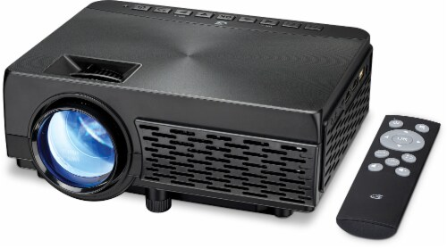 GPX Mini Bluetooth Projector Perspective: right