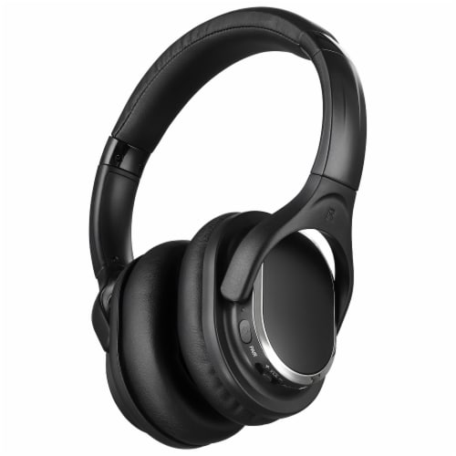 iLive RF Wireless Over-Ear Headphones - Black Perspective: right