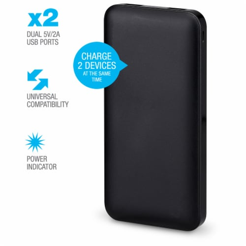 Portable Power Bank - Black Perspective: right