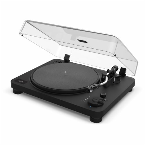 iLive Turntable and Speaker Bundle Perspective: right