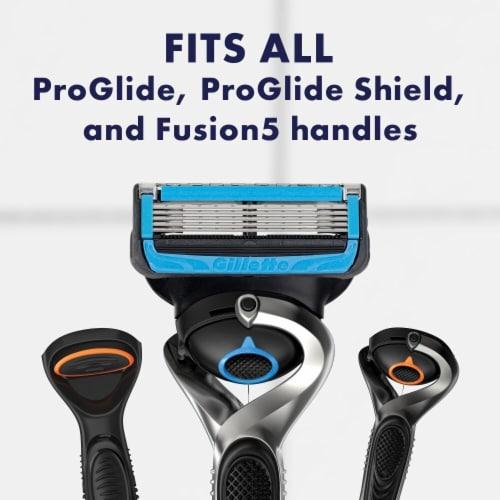 Gillette ProGlide Chill Men's Razor Blades Refills Cartridges Perspective: right