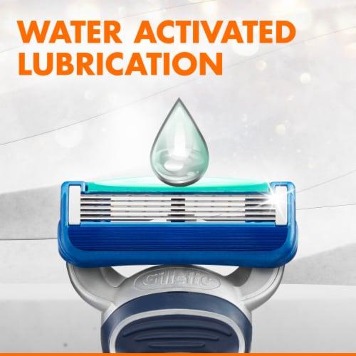Gillette® Sensor5 Men's Disposable Razor Perspective: right