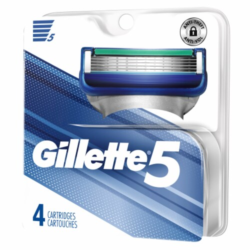 Gillette 5 Refill Cartridges Perspective: right