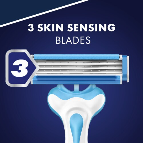 Gillette Sensor3 Cool Disposable Razors Perspective: right