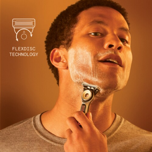 Gillette Labs™ Heated Shaving Razor for Men Perspective: right